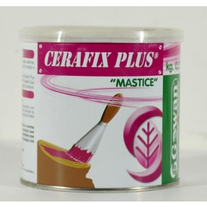CERAFIX PLUS MASTICE ADDITIVATO BIOLOGICAMENTE CONFEZIONE DA 500 GRAMMI